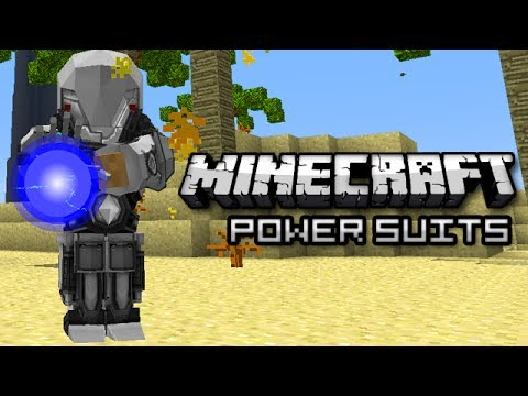 Minecraft: Ultra Survival Armor! (Modular Powersuits Mod)