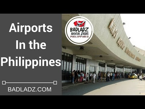AIRPORTS in the PHILIPPINES - Warning, Terminal 1 using letters not numbers