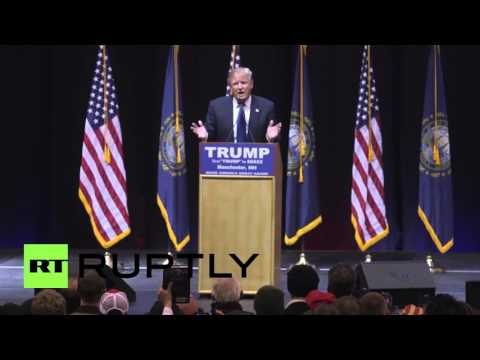 """USA: """"He's a pussy"""" - Trump repeats supporters insult to Ted Cruz"""