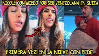 ►NICOLE CON MIEDO POR SER VENEZOLANA EN SUIZA *POLICIA LE PIDE EL PASAPORTE*