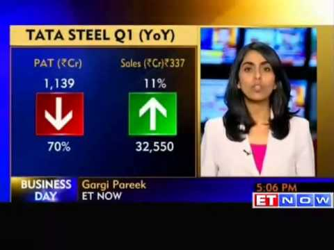 Tata Steel Q1 profit falls 70% on tax expense
