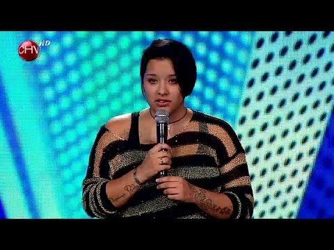 Constanza Cid cantó con pasión y dedicó su presentación a una amiga fallecida - TALENTO CHILENO 2014