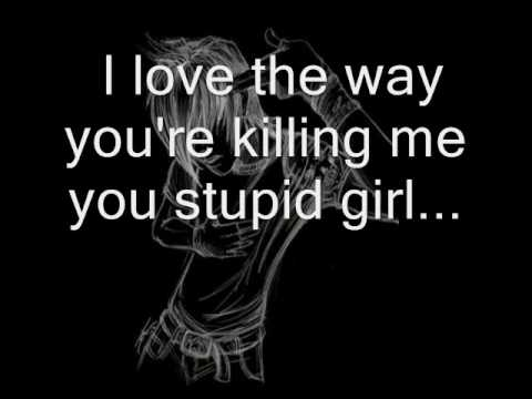 Framing Hanley You Stupid Girl With Lyrics.wmv video