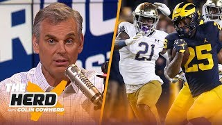 Colin Cowherd picks Week 12 college football in the Marquee 3 | CFB | THE HERD