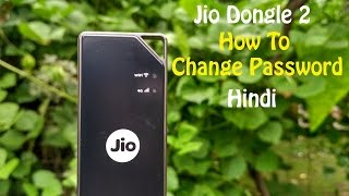 Jio Dongle 2 | How to change password ? | Hindi | Jio 4G | RKB Tech