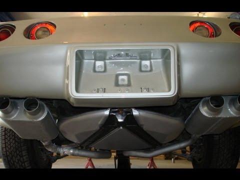 1978 C3 Corvette 25th Anniversary Dual Flowmaster Exhaust