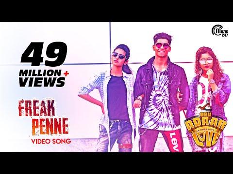 Oru Adaar Love| Freak Penne Rap Song| Priya Varrier, Roshan, Noorin Shereef| Shaan Rahman |Omar Lulu thumbnail