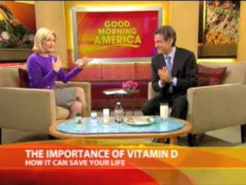 Dr. Oz on The Importance of Vitamin D