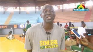 """Madiene Fall, coach U18 masculin : """"Le groupe est renforcé en qualité.."""""""