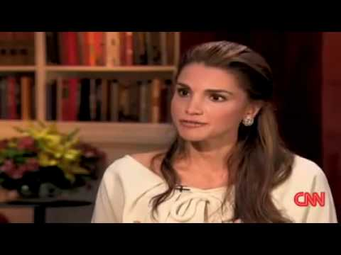 "Queen Rania in ""The Situation Room"""