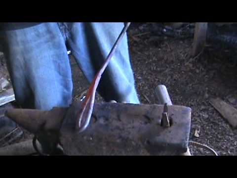 Forge Welding Making a Fire Poker
