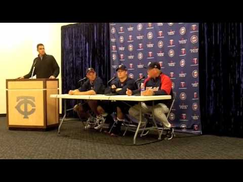 Minnesota Twins Target Field Opener Postgame Press Conference Video