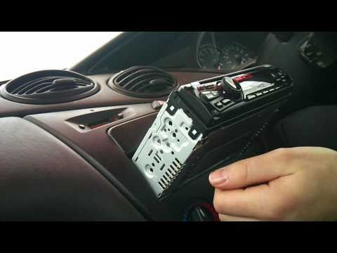 ford focus radio installation