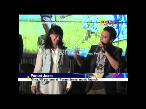 Mika, Kk Perform At 'purani Jeans' Music Launch video