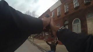 Baltimore Police Bodycam Captures Murder Attempt