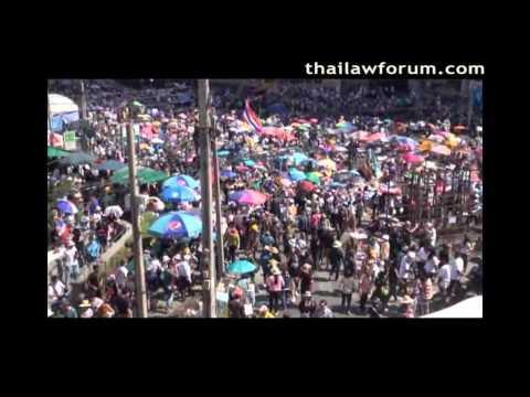 Yellow Shirt Protesters Shutdown Bangkok