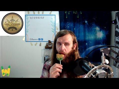 Marijuana Edible Review: Cali Dreams Candy Company Caramel Apple Lollipop 100 mg