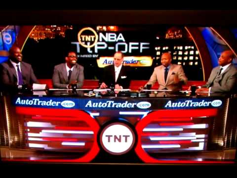 NBA on TNT Makes Fun of LeBron James Hairline