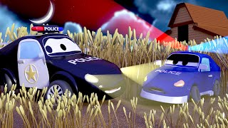 Car Patrol -  What is in Ben's field?  - Car City ! Police Cars and fire Trucks for kids