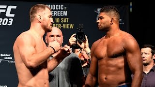 Download Stipe Miocic vs. Alistair Overeem   Weigh-In   UFC ON FOX 3Gp Mp4