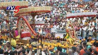 Srivari Brahmotsavam 2017 : భక్తులతో నిండిపోయిన తిరుమలగిరులు..!