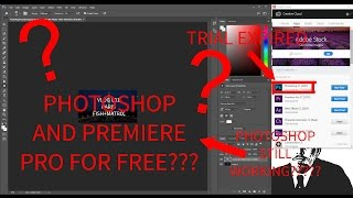 HOW TO GET ADOBE PREMIERE PRO AND PHOTOSHOP FOR FREE??? - (100% LEGIT NO SURVEYS AND NO INFO)
