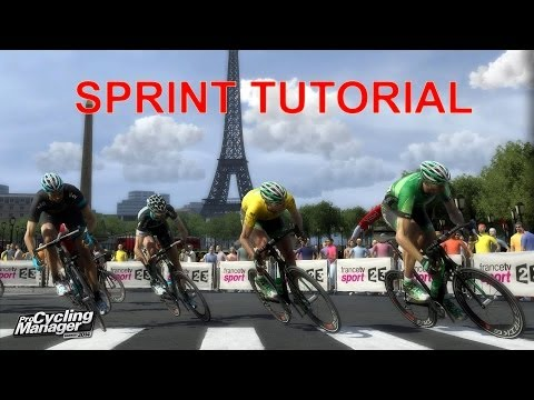 Pro Cycling Manager 2014 - How To Sprint - Leadout train 101 - Tutorial
