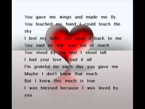 Celine Dion - Because you loved me - YouTube.flv