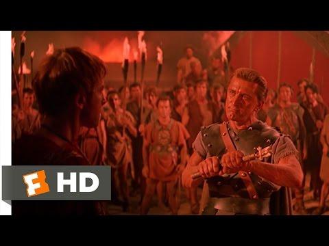 Spartacus (7 10) Movie Clip - Breaking Glabrus' Power (1960) Hd video