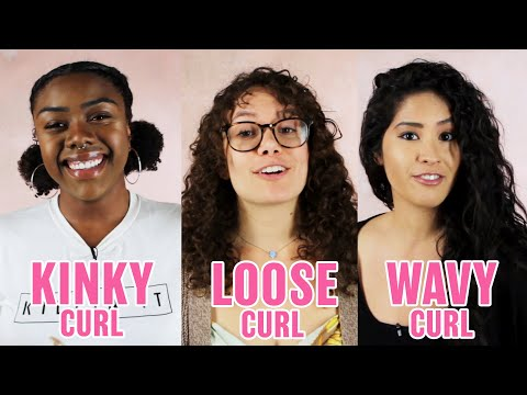 Our 3 Different Curly Hair Routines