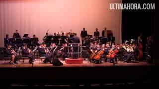 Banda de la Policía deslumbró en concierto de gala