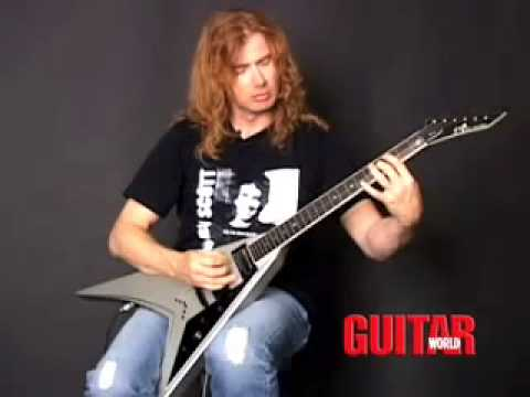 Dave Mustaine Dave Mustaine Lesson-symph of