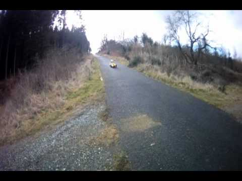 Fast Streetluge run 60mph +