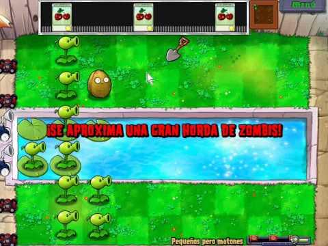Plantas vs Zombies Minijuego Pequeños pero matones