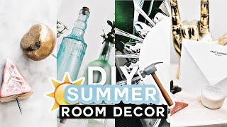 DIY SUMMER ROOM DECOR  ✂ Pinterest Inspired (Cute + Affordable) - Lone Fox