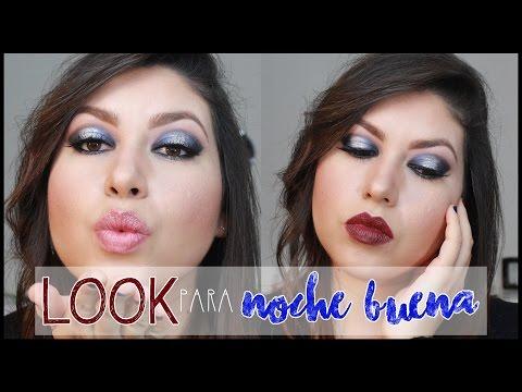 Maquillaje Ahumado Azul con Plata + GLITTER 3D | MaKillArte