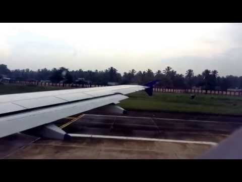 indigo airlines 6E 176 take off from trivandrum