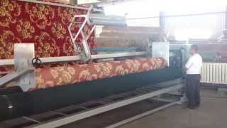 Carpet Wall to Wall Rolling Machine - Duvardan Duvara Halı Rulo Makinesi