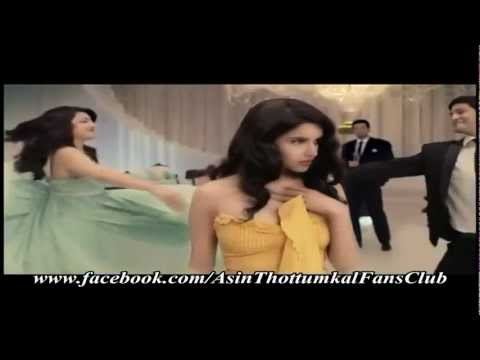 Lux advertisement featuring Asin and Kajal