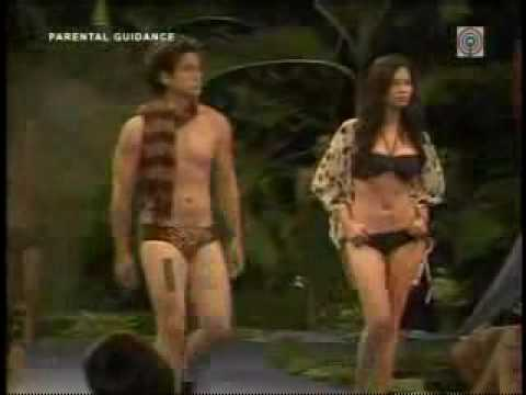 Angel Locsin fashion show sexy bikini