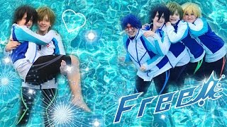 How to Get Your OTP to Kiss [Free! Cosplay]
