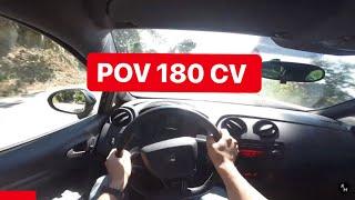 Seat Ibiza CUPRA 1.4 tsi 180 CV 2011 POV sound STOCK