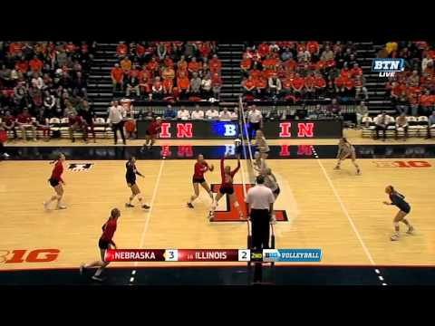 Longest Point Ever!?!?!?!? | Big Ten Volleyball