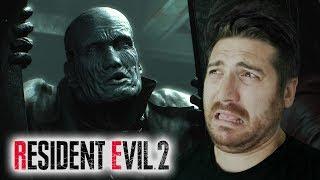 Mr. X vs Adam - Resident Evil 2 Gameplay
