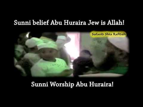 Сунниты верят Абу Хурайра это Аллах!