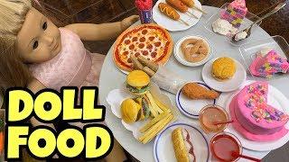 Best Ever American Girl Doll  Custom Food