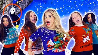 REBECCA ZAMOLO Christmas SWEATER Official Music Video! (Game Master Challenge)  from Rebecca Zamolo