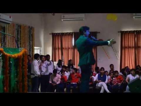 Children's Day celebration at Gla University with Dr. Kumar Vishwas