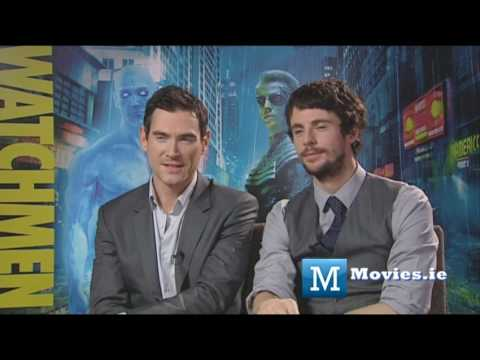 Watchmen - Dr. Manhattan & Ozymandias - Billy Crudup & Matthew Goode (aka Superman Man Of Steel)