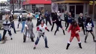 Thriller Flash Mob Osborne Village